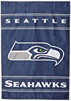 Made of 100% polyester Pole sleeve for hanging Bold team colors High quality imaging Officially licensed Made of 100% polyester Bold team colors High quality imaging Officially licensed Officially licensed NFL product. 28-by-40 Inch polyester house b...