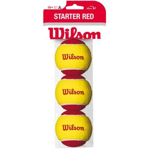 Bola de Tênis Wilson - Starter Balls Vermelha (PK3)