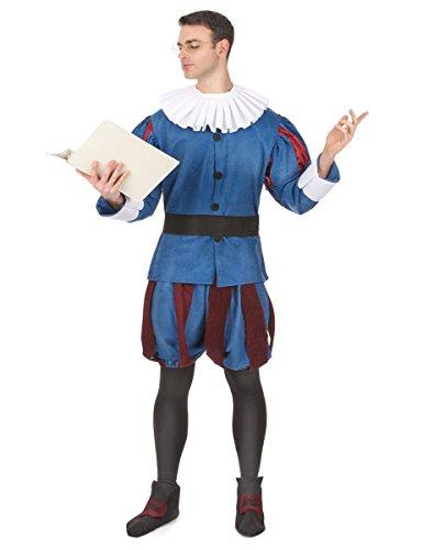 Disfraz de Cervantes para hombre - Única