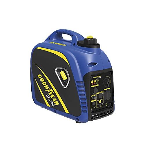 Goodyear Generador eléctrico para exteriores Inverter gasolina, 2000 W, 4.5 l. ,...