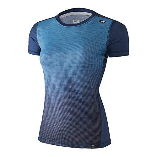 42K RUNNING - Camiseta técnica Elements 100% Reciclada 100% Reciclada Mujer Water XL