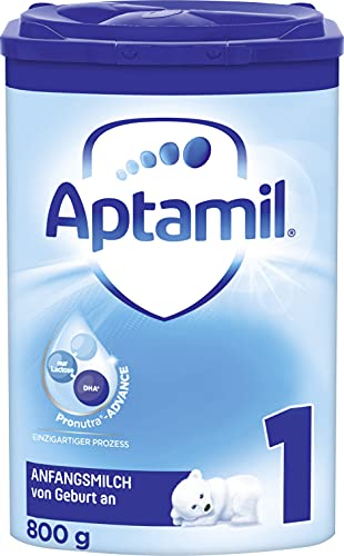 Aptamil Pronutra-ADVANCE 1, Anfangsmilch von Geburt an, Baby-Milchpulver (1 x 800 g)