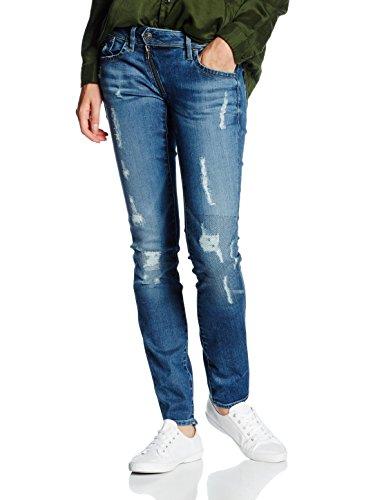 G Star Jeans Lynn Zip Mid Skinny Dark Denim W26L34