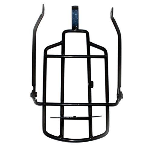 CLISPEED Portabicicletas Universal Portaequipajes Trasero para Bicicleta Plegable para Maletas Bolsas de...