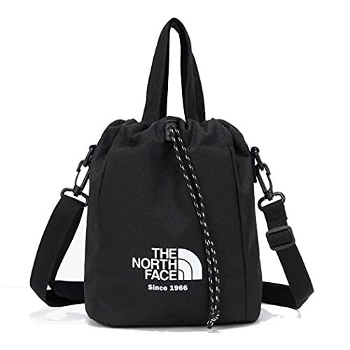 [ザノースフェス] The NORTH FACE ホワイトラベル バケツ ミニー バック クロスバッグ NN2PM65J メンズ レディース WL BUCKET BAG MINI FOR UNISEX (ブラック(BLK)) [並行輸入品]