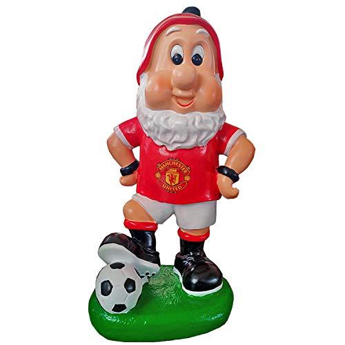 Oficial Manchester United Tamaño Grande gnomo de jardín nuevo 2016/2017diseño, mejor día del padre regalo