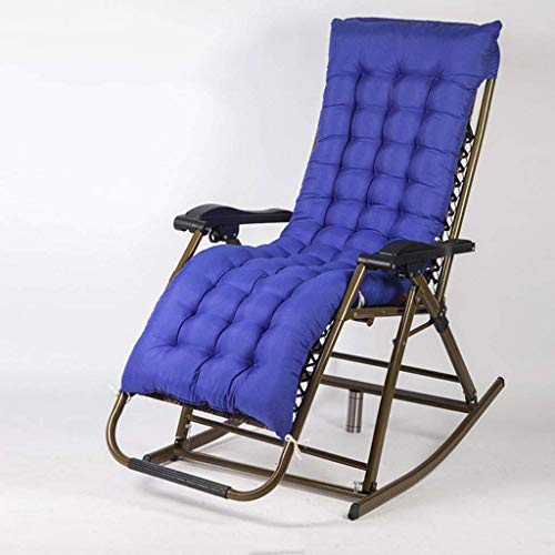 Useful WJSW Zero Gravity Chair Balcony Rocking Chair, Detachable Neck Pillow Lunch Break Leisure Chair Outdoor Garden Folding Recliner Chair Sun Loun