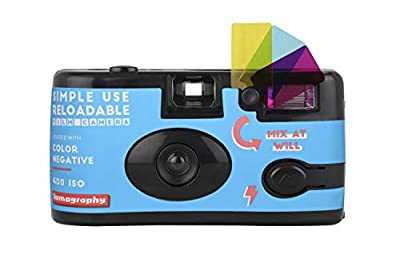 Lomography Simple Use Reloadable Camera Color Negative 400 Film from LOMOGRAPHY