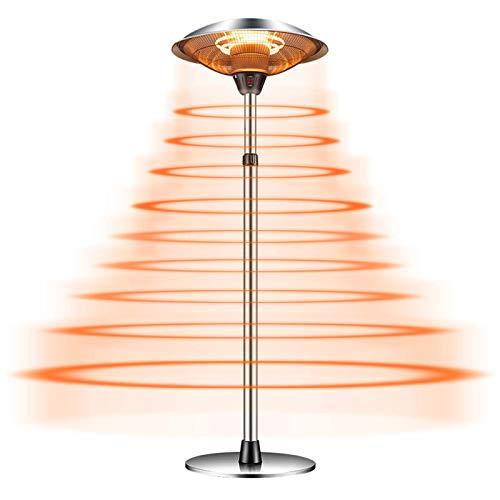 YYQ SHOP Calefactor de Terraza Estufa Infrarrojo Eléctrico Radiador Carbon Protección contra Salpicaduras y polv Eficiente,2100W/3000W,Calefacto Ahorro Energético