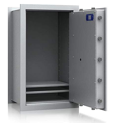 SafeHero Wandtresor Klasse 1 VDs EN 1143-1 Secureo Strix Pro 3   H830xB490xT387   Schlüsselschloss   VDs Zertifiziert   versteckbare, Flache Vorderseite & umlaufender Feuerfalz