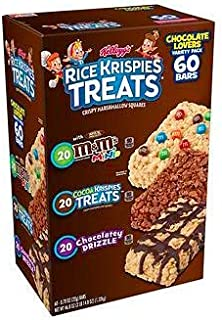 Kellogg's Rice Krispies Treats Variety Pack, 60 ct./0.78 oz.