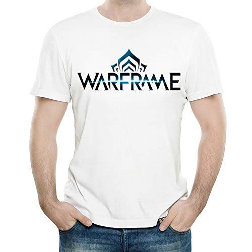 Warframe T Shirt Mens Short Sleeve Game Warframe Logo Tops Tees,1,L