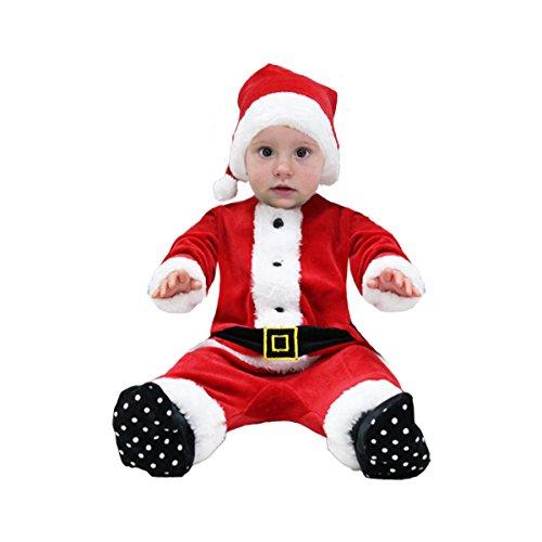 Pegasus Vestito Costume Maschera di NATELE Neonato - Babbo Natale Neonato - Taglia 10/12 Mesi - 58 cm