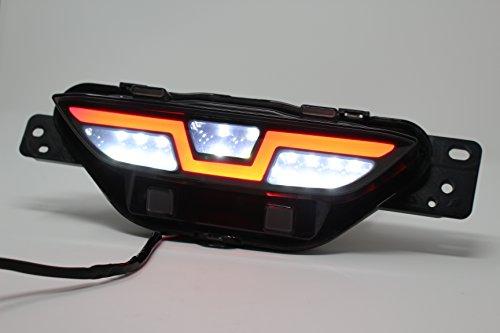 C-HR LEDブレードリアフォグランプ 電源取り出しカプラー付 面発光 ファイバー テールランプ イルミ ドレス...