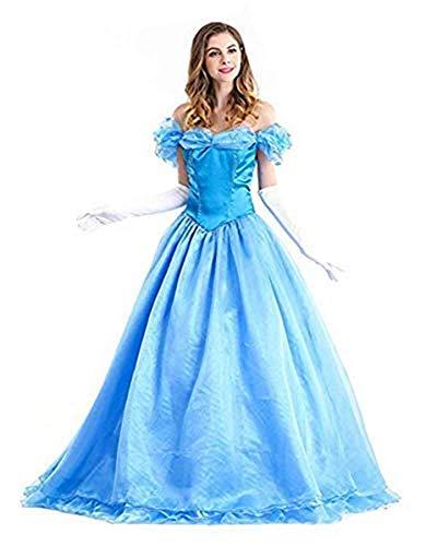 Xyfw Vestido De Princesa De Cuento De Hadas Sexy para Mujer Disfraz De Cenicienta para Adultos Cosplay De Carnaval Disfraces De Carnaval De Halloween Disfraces De Carnaval Fiestas,XXL