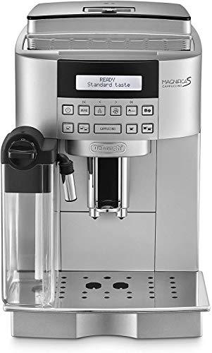 De'Longhi ECAM 22.360.S Magnifica S Macchina da caffè Automatica, 1450 W, 1.8 Litri, plastica/Acciaio, Argento