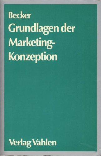 Grundlagen der Marketing-Konzeption. Marketingziele, Marketingstrategien, Marketingmix.