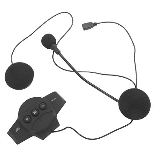 Fybida 32 Horas de Trabajo Auriculares Manos Libres Impermeables para Motocicleta Auriculares portátiles para teléfonos celulares, TV, PC y Viajes
