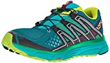 Salomon X-Mission 3 W, Zapatillas de Trail Running Mujer, Turquesa (Deep Lagoon/Bluebird/Acid Lime), 38 EU