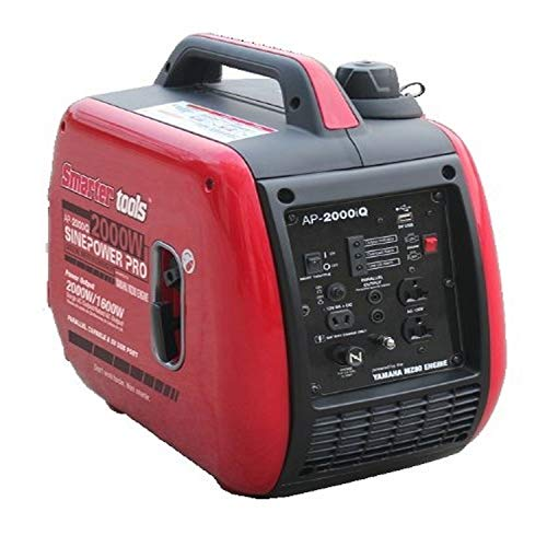 Smarter Tools STAP-2000iQ, 1600 Running Watts/2000 Starting Watts, Gas Powered Portable Inverter