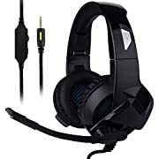 Ceppekyy Gaming Headset for Xbox One, PS4, Nintendo Switch, Laptop, PC, Mac, iPad and Smart Phones - Stereo Surround Sound&Noise-Cancelling, with Microphone