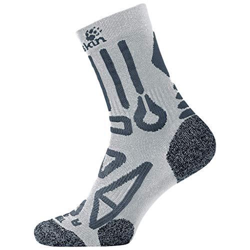 Jack Wolfskin Trekking Pro Classic Cut Socken Unisex, Grey Haze, 41-43