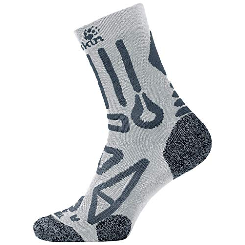 Jack Wolfskin Trekking Pro Classic Cut Socken Unisex, Grey Haze, 38-40