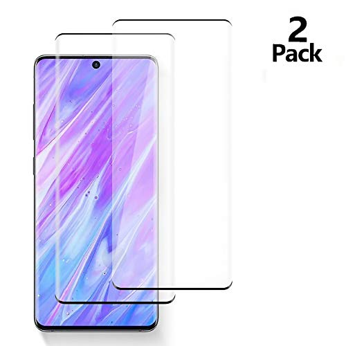 [2 Pack] HD Galaxy S7 Edge Screen Protector,Tempered Glass for Samsung Galaxy S7 Edge [3D Full Edge Covered] [9H Hardness] [Anti-Dirty] Case Friendly Glass Protector for Samsung Galaxy S7 Edge