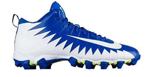 Nike - Alpha Menace Pro Mid American Football-Schuhe - Game Royal/White/White - 44.5