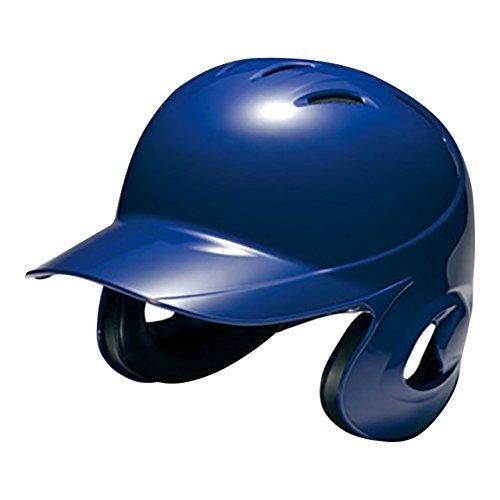 MIZUNO(ミズノ) ソフトボール用ヘルメット(両耳付打者用) (1DJHS101) 16パステルネイビー 16パステルネイビー L