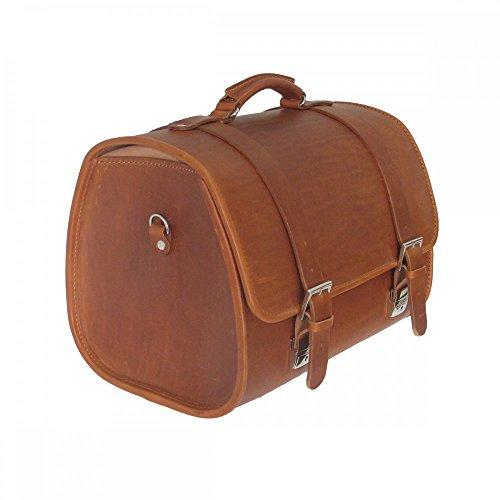 Vespa Original Ledertasche braun für den Gepäckträger GTS/Sprint/Primavera