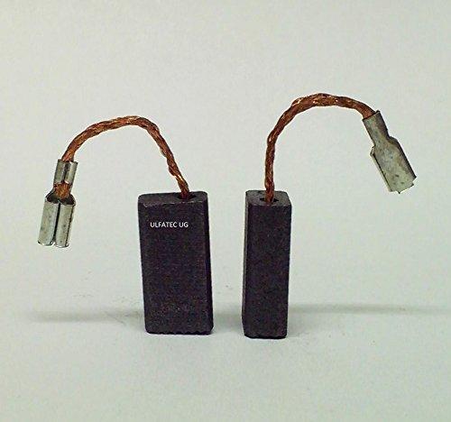 Kohlebürsten für Bosch, AEG, GWS 850 CE. PWS 5-115 , PWS 6-100, GNF 20 CA , GFF 22 A , GUF 4-22 A , PSF 22, PWS 600 , PWS 620 , GNS 5-100 , B 9150, 7-115 E , PWS 8-125 CE , PWS 550, GWS 670 , GWS 780 C , GWS 850 GWS 670 , GWS 780 C , GWS 850 C -NEU