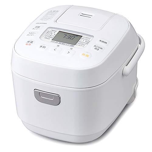 アイリスオーヤマ 炊飯器 3合 マイコン式 40銘柄炊き分け機能 極厚火釜 玄米 2020年モデル ホワイト RC-ME30-W