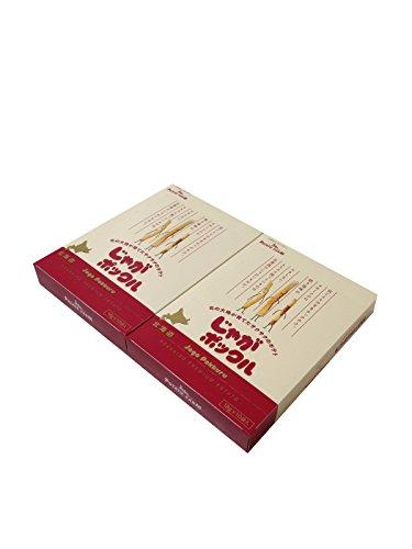 【北海道限定】じゃがポックル(薯條三兄弟) 大 10袋入り / お土産袋付き / 複数注文可能 /ポテトファーム (2個)