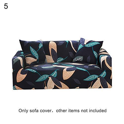 HshDUti Couverture de Housse de Housse de Housse de Housse de Housse de canapé en Tissu Stretch imprimé Floral 5# Double*