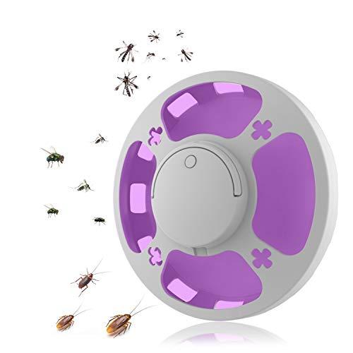 YongGe Lámpara de Mosquito (versión 2021) LED Repelente de Moscas, Trampa eléctrica...