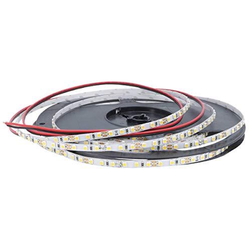 iluminize LED-Streifen Mikro: sehr hochwertiger Mikro LED-Streifen, nur 5 mm breit, 120 LEDs/m, hoch selektiert, 12V, 9,6W/m, 5 m auf Rolle (4000K Ra 80 IP33)