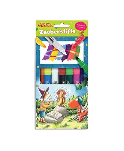 Der kleine Drache Kokosnuss - Magische Stifte: Set 7 Stifte