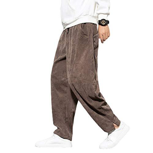 Pantalones de chándal para correr para hombres, pantalones de chándal informales, pantalones deportivos con dobladillo abierto, pantalones de chándal ligeros para correr, entrenamiento, gimnasio Xl