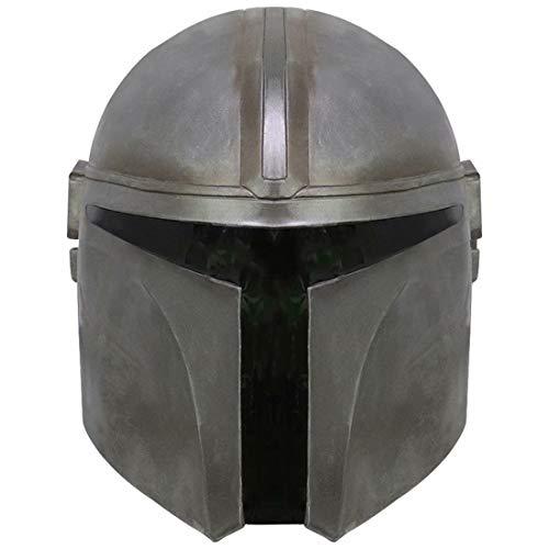 SW Mandalorian B.o.ba Fett Helmet Replica Full Head Mask Cosplay Costume Adults Black