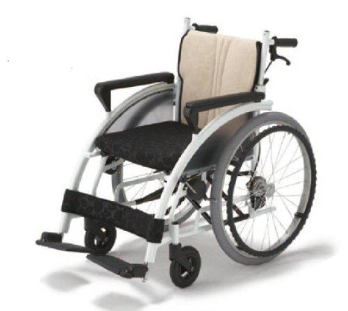 フランスベッド メディカルサービス リハテック シリーズ nomoca (のもか) 車椅子 ホワイト色