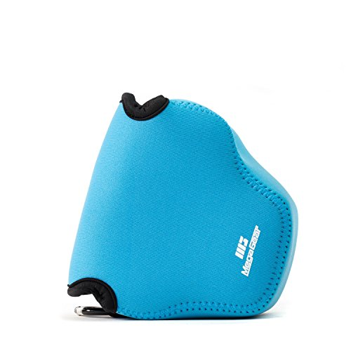 MegaGear MG1774 Ultra Light Neoprene Camera Case Compatible with Fujifilm X-A7 - Blue