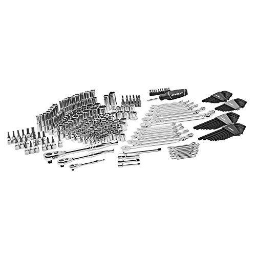 NEW Husky Mechanics Tool Set Kit, New 268 Piece Case, Chromium Steel...