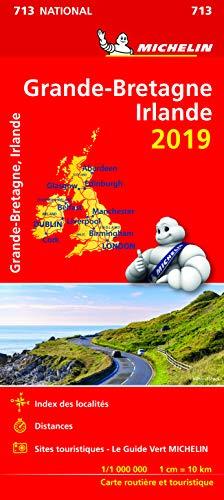 Carte Grande-Bretagne, Irlande Michelin 2019 (CARTES (8750))