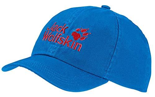 Jack Wolfskin Kinder Baseball Kappe, Sky Blue, ONE Size (49-55CM)