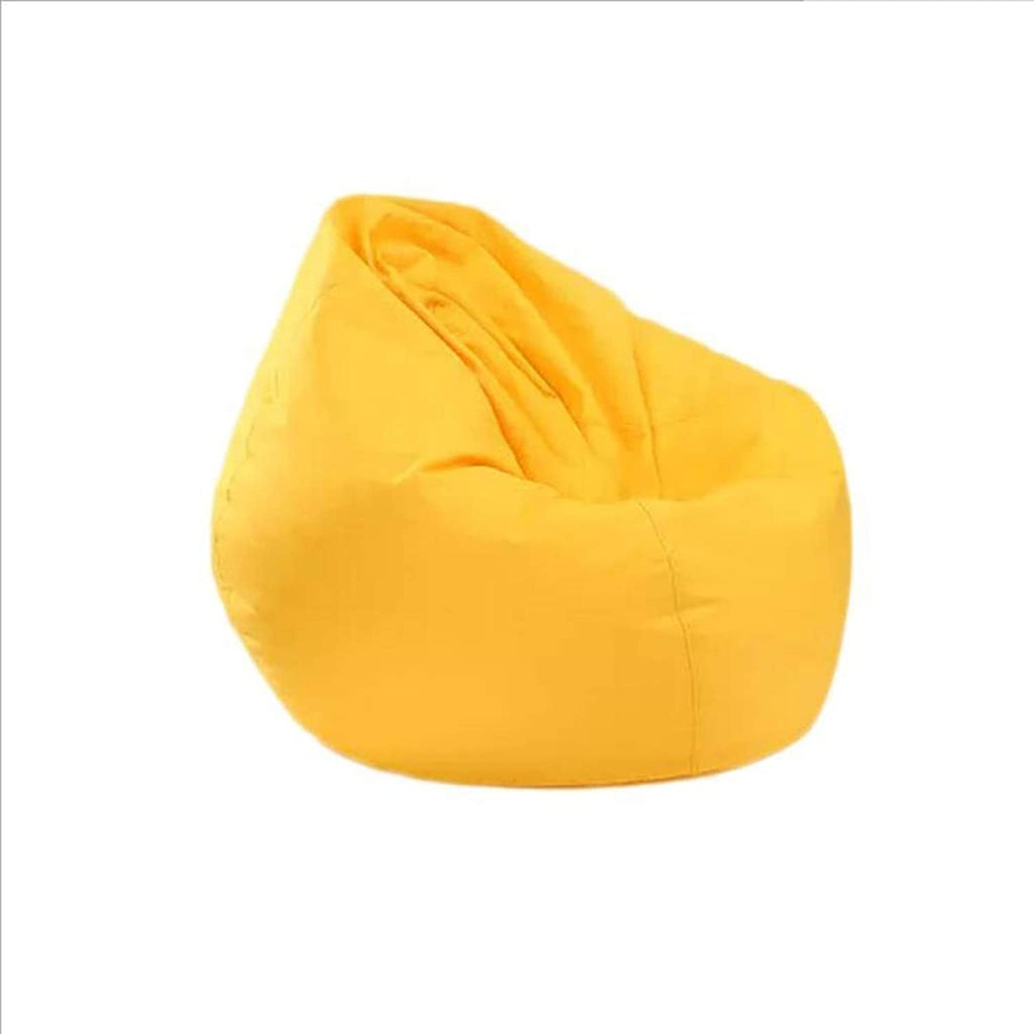 Adult Beanbag - Large Bean Bag Chair for Indoor and Outdoor Waterproof Oxford Cloth - Perfect Lounge Or Gaming Chair - Home Or Garden (color   Yellow, Size   M)