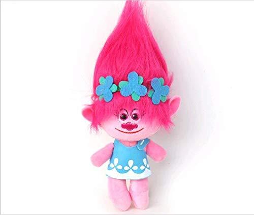 """32 cm Plüschtier mit Trolls-Figuren aus dem Film """"Dream Works"""", gefüllte Cartoon-Puppen, die Glück..."""