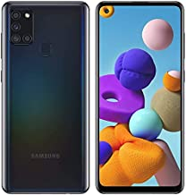 Samsung Galaxy A21S SM-A217f/DS | 4G LTE 64GB + 4GB Ram LTE |Four Cameras (48+8+2+2mp)| Android International Version (GSM Only) (Black) (Black)