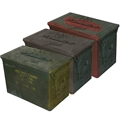 Fat 50 Ammo Can-Grade 2 (3 Pack)