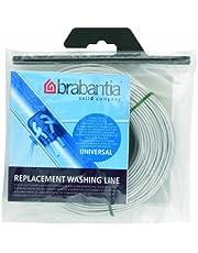 Brabantia 297243 Cuerda de Recambio para tendedero, Gris, 65 Metros